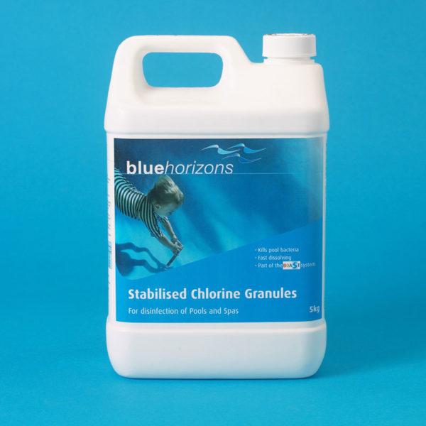 Stablised Chlorine Granules